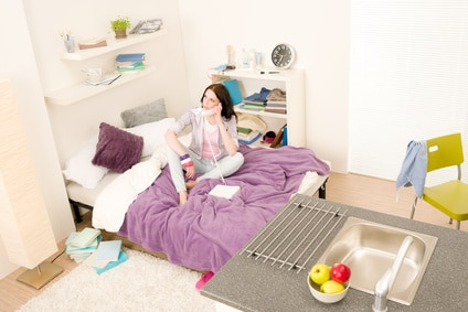 einfach wohlfühlen_kleiner Wohnraum WG-Zimmer