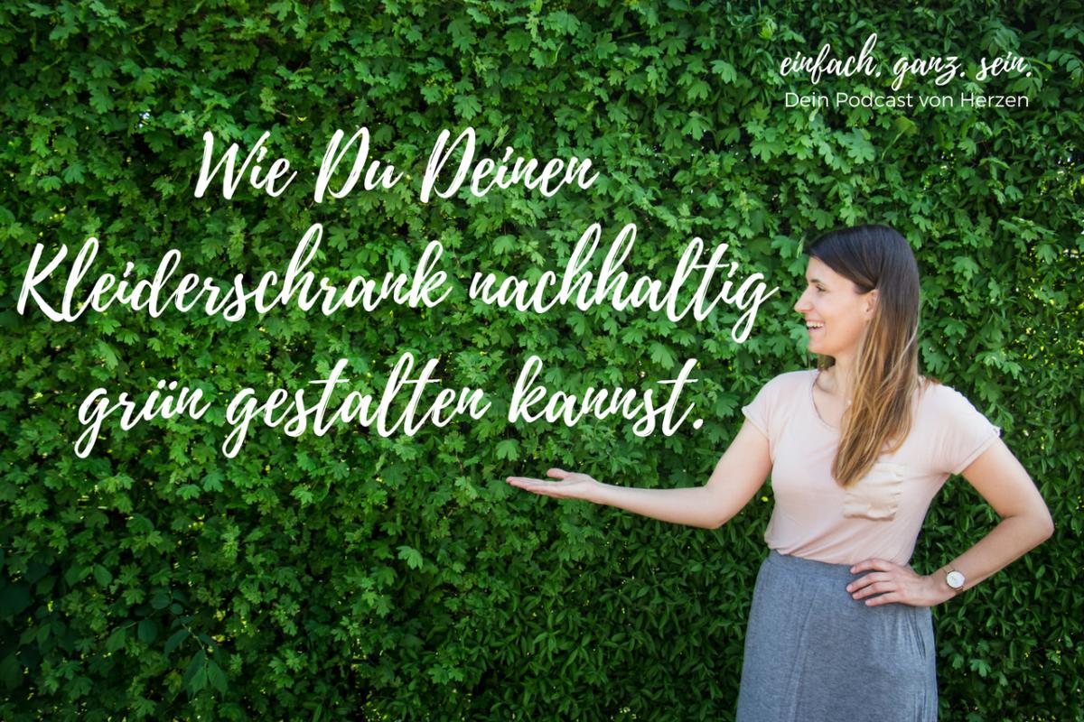 20 Kleiderschrank nachhaltig grün